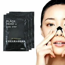 10Pcs Mineral Mud Blackhead Cleaner Remover Nose Membranes Cleansing Pore Strips