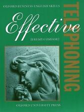 Effective Telephoning: Student's Book (Oxford Business English Skills)-ExLibrary