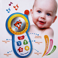 Baby Musical Phone Toy Toddler Children Sound Learning Educational Toy Gift NEW