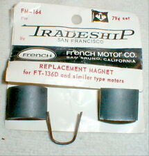 1 Pair with Retainer Spring Super Magnets by French Motor Co Sold by TRADESHIP