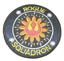 STAR WARS - ROGUE SQUADRON PATCH - New, Iron on or Sew on, 3 1/2 inches