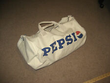 Vintage Canvas Pepsi Cola Duffle Bag Duffel Hand Gym Bag