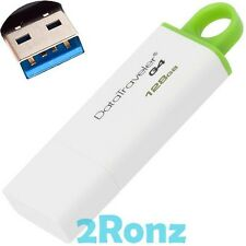 Kingston DT G4 128GB 128G USB 3.0 Flash Drive Disk DataTraveler Stick Loop Green