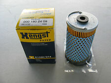 NEW HENGST E135HD14 ENGINE OIL FILTER FOR MERCEDES-BENZ (0001802409)