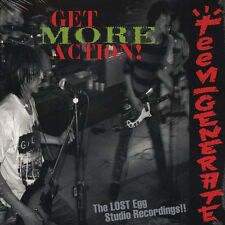 Teengenerate Get More Action! Vinyl LP Record!! japanese garage punk rock NEW!!!
