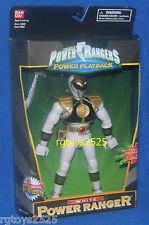 Mighty Morphin Power Rangers Power Playback White Ranger New RARE 8  inch