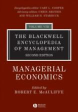 The Blackwell Encyclopedia of Management, Managerial Economics (Blackw-ExLibrary