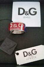 DOLCE & GABBANA Training Sports System Stainless Steel Handmade Ring V SALE!