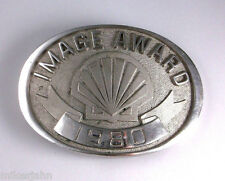 Shell Oil Gas Company Logo Image Award 1980 Jostens Vintage Belt Buckle hrt56