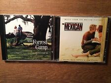 Alan Silvestri [2 CD Alben] The Mexican + Forrest Gump / Score Soundtrack