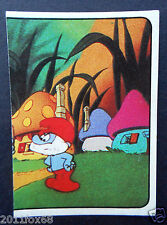 figurines cromos los pitufos cards figurine i puffi 167 panini 1982 the smurfs f