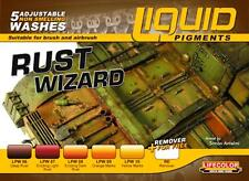 Lifecolor Liquid Pigments Rust Wizard set