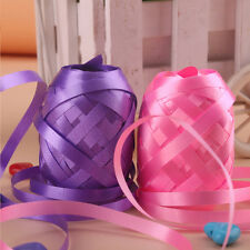 6Pcs Multi Colored Curling Balloon Ribbon Wedding Birthday Party Craft Gift Wrap