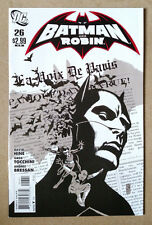 BATMAN AND ROBIN #26 1ST PRINT JONES BLACK / WHITE VARIANT COVER DC COMICS 2011