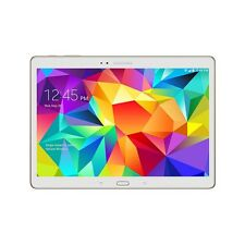 "Samsung Galaxy Tab S T807 Verizon Wireless 4G LTE 10.5"" Android White Table"