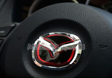 3D Mazda Steering Wheel Badge Emblem Logo Sticker 2 3 6 CX3 CX5 CX9 BT50 MX5 RF