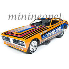 AUTOWORLD AW1161 1971 DODGE CHARGER TOM HOOVER WHITE BEAR NHRA FUNNY CAR 1/18 OR