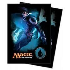 Ultra Pro MTG Mana 4 Planeswalkers Jace Sleeves 80ct.