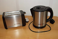 Electric Low Watt 1L Swiss Luxx Compact Kettle AND Toaster Caravan Motorhome