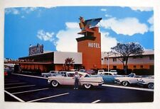 1950s Thunderbird Hotel on Las Vegas Strip w/ 1950s Style Cars in Lots Nice!