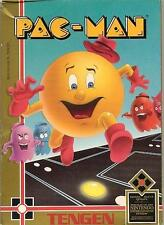 Pac-Man Tengen Pacman - Gray Cart - NES Nintendo Game