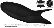 BLACK STITCH CUSTOM FITS DUCATI HYPERMOTARD 821 939 13-17 LEATHER SEAT COVER