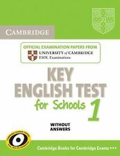 Cambridge Key English Test for Schools 1 Student's Book without answers: Officia