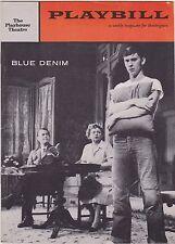 1958 Playbill Blue Denim Carol Lynley Chester Morris June Walker