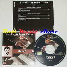 CD RAVEL II 2000 GRANDI DELLA MUSICA CLASSICA Munith horvat froment lp mc dvd