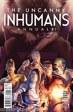 UNCANNY INHUMANS ANNUAL #1 (2016) 1ST PRINTING