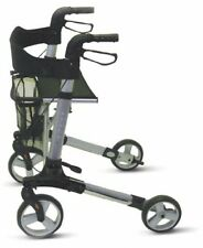 Patterson Medical Days 21539 Deluxe Lightweight Folding 4 Wheel Rollator Walker