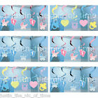 5x Hanging Swirls Decorations Baby Shower Party Christening Boy Girl Banner 2ft