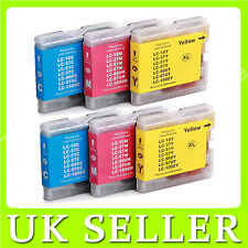 6x CMY Ink Cartridge for Brother DCP-130C DCP-150C 153C 330C 350C 540CN LC970