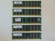 Stock 5 RAM 512 256 DDR 400 Mhz HYUNDAY KINGSTON NANYA Vintage Usato