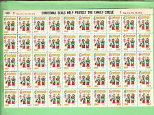 #T30.  1960 TB CHRISTMAS USA STAMP CINDERELLAS