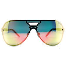 "NEW QUAY AUSTRALIA Black/Pink ""SHOWTIME"" Unisex Aviator Sunglasses -SALE"