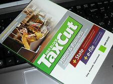 2007 TaxCut HOME & BUSINESS turbo w/State Schedule C & S-corp Tax Cut 2 New CD's