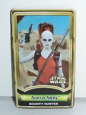 Star Wars Force File Insert for Aurra Sing Power of the Jedi POTJ 2001