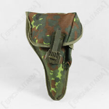 German Bundeswehr P1 FLECKTARN HOLSTER - P38 Pistol G17 Glock M1911A1 9mm Holder