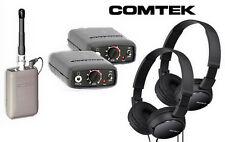 Comtek Beltpack System IFB Bundle PR-216. M-216 Opt. 7 W/  Sony Headphones