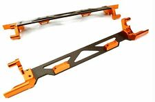 Integy Machined Alloy Battery Hold Down Plate Traxxas 1/5 X-MAXX 4x4 Orange