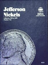 Whitman Jefferson Nickel Coin Folder Album 9039 #2 1962-1995