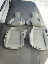 PORSCHE 944 911 951 964 968 85-94 SEAT KIT NEW UPHOLSTERY GRAY CUSTOM