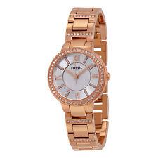 Fossil Virginia Rose Gold-tone Ladies Watch ES3284