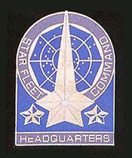 Star Trek Classic TV Star Fleet Command Headquarters Badge Metal Pin 1985 NEW