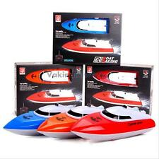 Mini Electric Remote Control Racing Boat Ship Radio High Speed RC Boat Toy Game