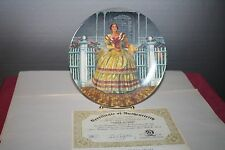 Gone with the Wind Melanie 3rd issue Collector Plate Knowles