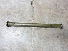 05 Triumph Sprint ST 1050 rear back axle shaft bolt