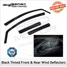 CLIMAIR BLACK TINT Wind Deflectors LEXUS GS 300 430 2005-2012 SET of 4