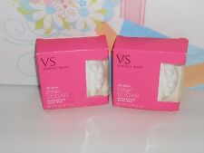 Victoria's Secret Perfect Body All Aglow Pink Sugar Massaging Body Bar X 2 NEW
